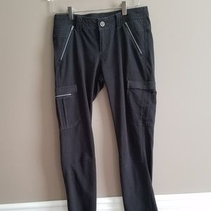 Kuhl Kurve Krush Black Skinny Cargo/ Hiking Pants